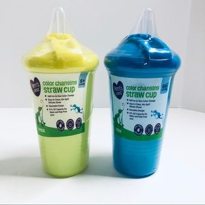 Parent's Choice BPA Free Straw Cups Color Changing